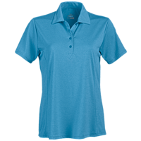 Page & Tuttle P2013 - Women's Heather Princess Seam Short Sleeve Polo