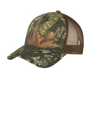 Port Authority® C930 - Structured Camouflage Mesh Back Cap