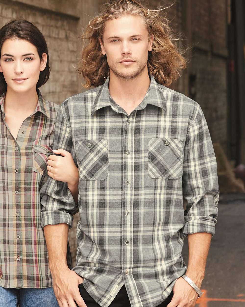 Weatherproof 178573 - Vintage Burnout Flannel