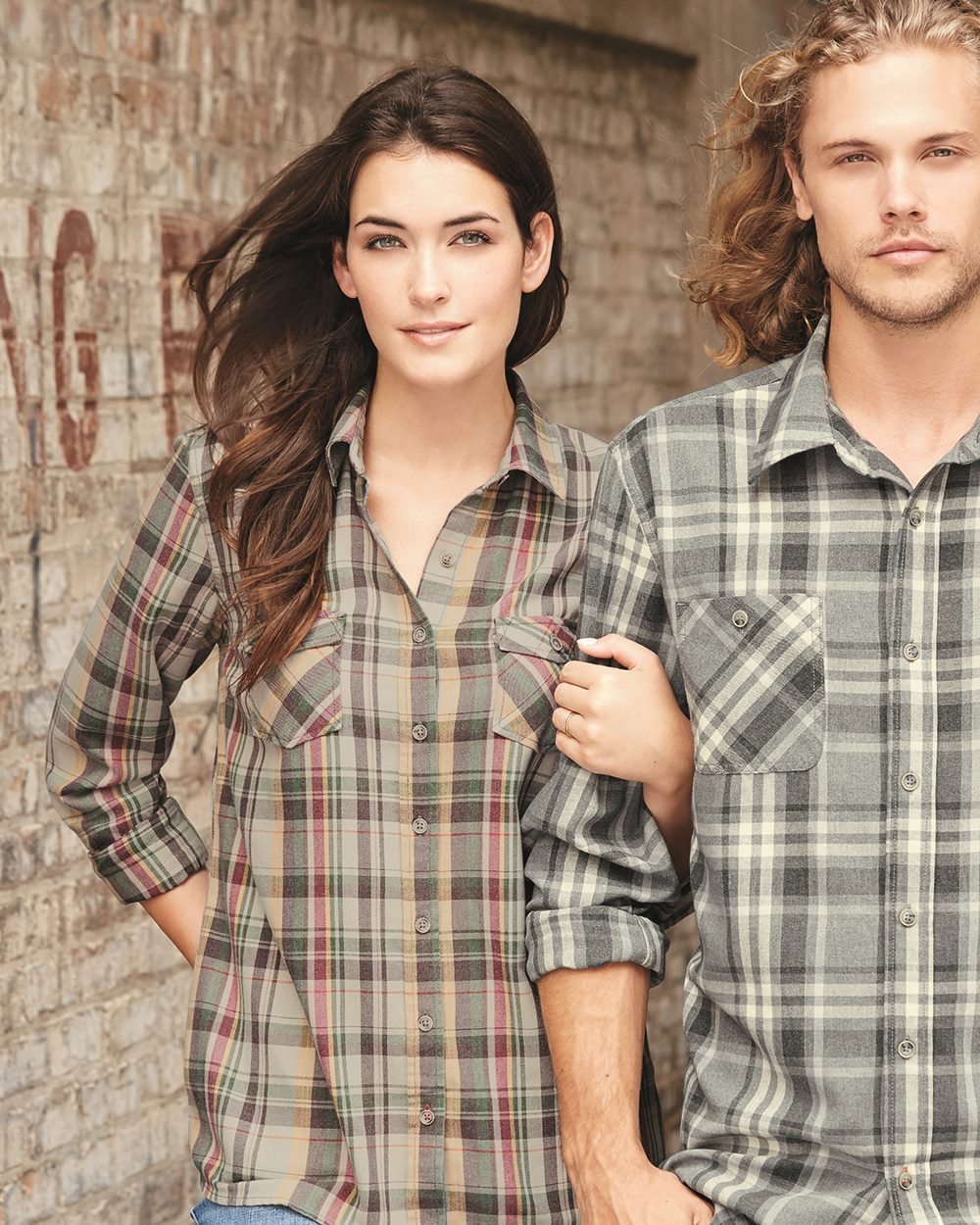 Weatherproof W178573 - Vintage Women's Burnout Flannel
