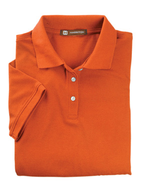 Harriton M265W  Women's Easy Blend Polo