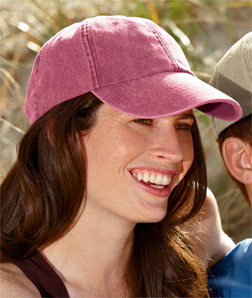 8140 UltraClub Classic Cut Solid-Color Pigment-Dyed Cap
