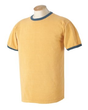 Authentic Pigment 1946 - 5.6 oz. Pigment-Dyed Ringer T-Shirt