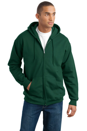 Hanes® F283 Ultra Cotton® Full-Zip Hooded Sweatshirt