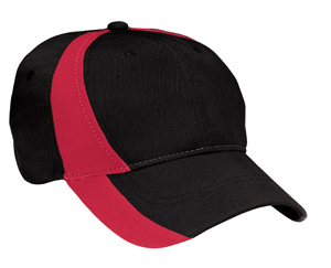 Sport-Tek® YSTC11 Youth Dry Zone™ Nylon Colorblock Cap