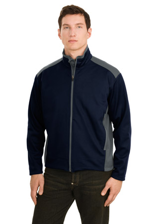 Port Authority® J794 Two-Tone Soft Shell Jacket