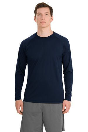 Sport-Tek® T473LS Dry Zone™ Long Sleeve Raglan T-Shirt